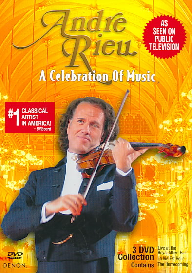 CELEBRATION OF MUSIC BY RIEU,ANDRE (DVD)